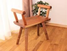 こんな椅子が欲しかった! ポーチチェア オニグルミ