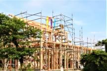 大田原市O様邸の上棟式が行われました。