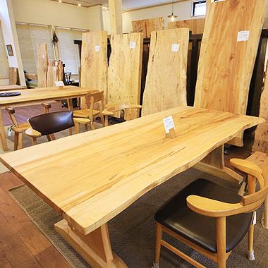 こだわりの木材 家具